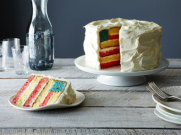 4th layer cake