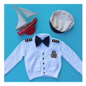 captain costume for kids