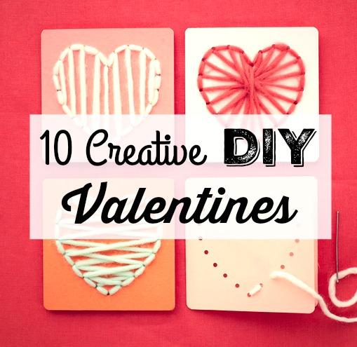 10 Creative DIY Valentines