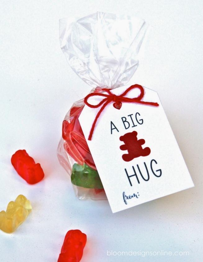 A big bear hug