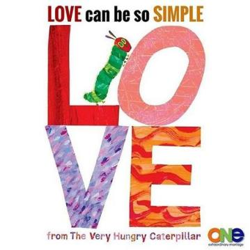 Love From the Very Hungry Caterpillar book $9
