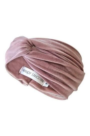 Mandy Tangerine – Turban in Iced Mauve $26